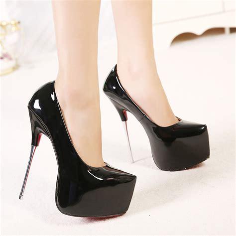 metal high heel shoes autumn 16cm metal heels shoes high heels