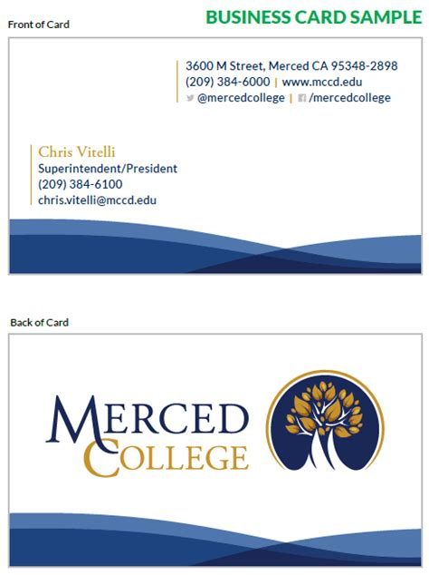 college business card template college business cards sle gallery card design and