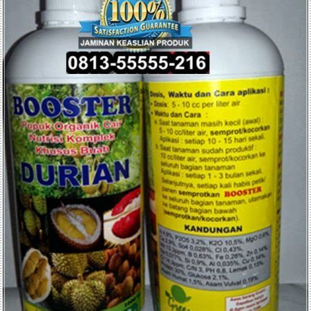 Pupuk Nongfeng Untuk Cabe jual pupuk durian booster harga pupuk durian terbaik