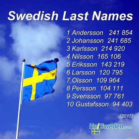 best swedish top 100 swedish surnames quist str 246 m co hej