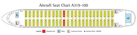 airbus a319 111 seating plan airbus a319 100