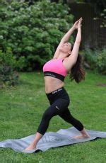 emma watson yoga retreat casey batchelor at a morning workout at yoga retreat in