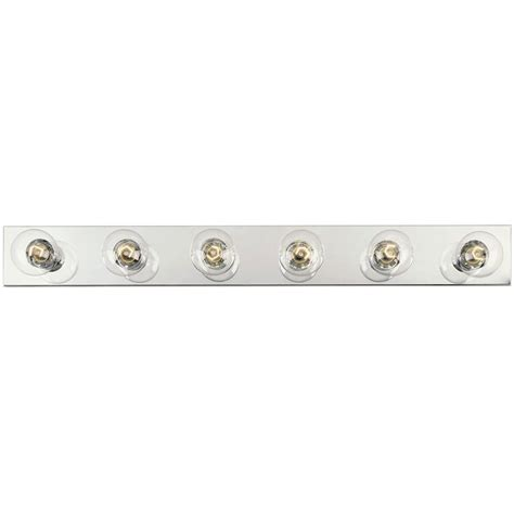 home depot bath bar lighting westinghouse 6 light chrome interior bath bar light