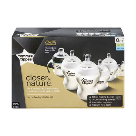 Tommee Tippee Closer To Nature Bottle 260 Mlbotol Bayi closer to nature tommee tippee bottle feeding starter kit pack of 7 kmart