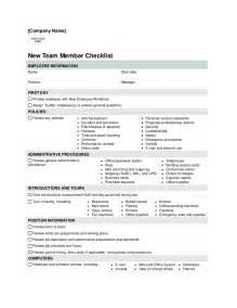 Skills I N Resume by New Employee Check List