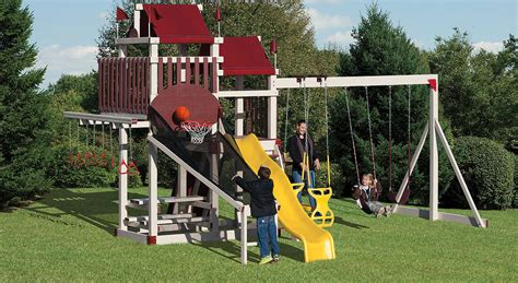 swing sets with installation included mysite swing sets