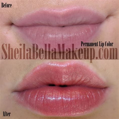 permanent lip color permanent makeup and microblading