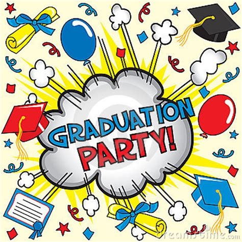 graduation party! royalty free stock photography image