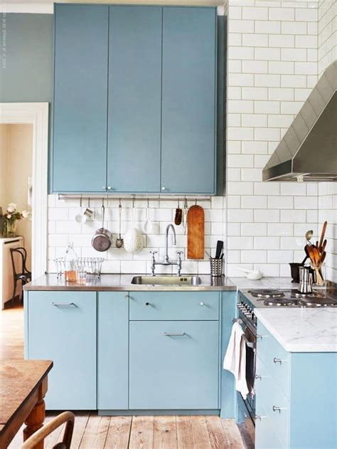 Ikea Blue Kitchen Cabinets