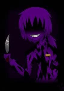 Nightmare purple guy speedpaint by julia10122002