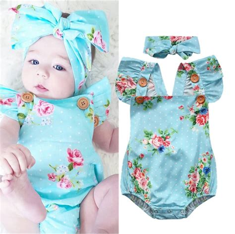 baby floral one 2017 newborn baby floral one pieces romper sunsuit