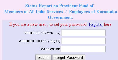 www.agkar.cag.gov.in gpf status and account statement