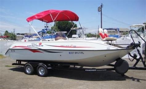 used tracker deck boats for sale tracker deck boat 21 boats for sale