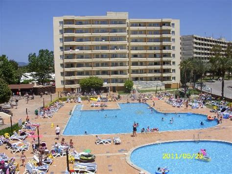 Apartments Bellevue Alcudia View From Leda 1 Babies Pool Out Of Picture Of