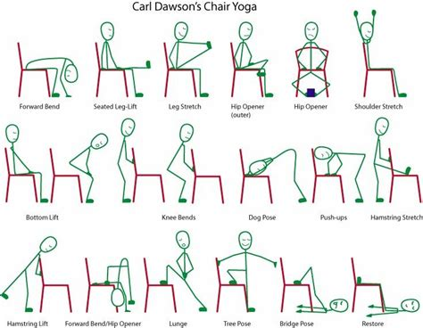 printable yoga chart printable chair yoga routines http www t six com music