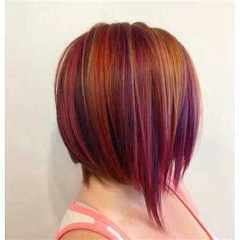 long layered graduated inverted bob | long hairstyles