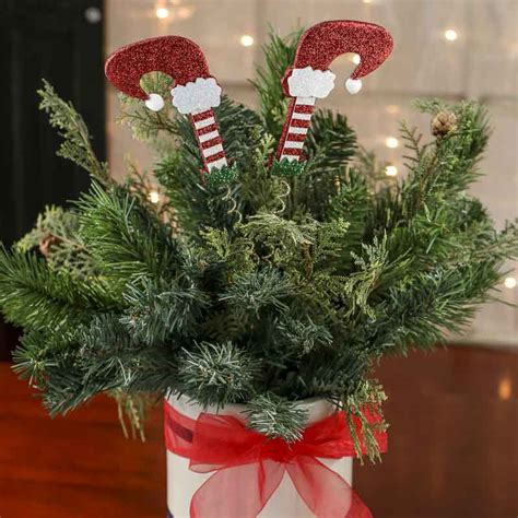 christmas floral picks and stems glittered legs floral picks and stems floral supplies craft supplies