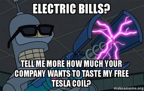 My Tesla Login Electric Bills Tell Me More How Much Your Company Wants
