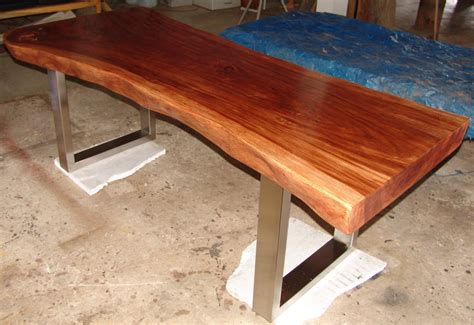 Solid Oak Dining Room Table by Live Edge Dining Table Reclaimed Solid Slab Acacia Wood By