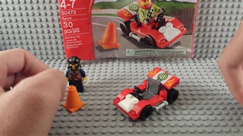 Lego Juniors 30473 Racer 30473 lego juniors racer polybag build review and easy to build