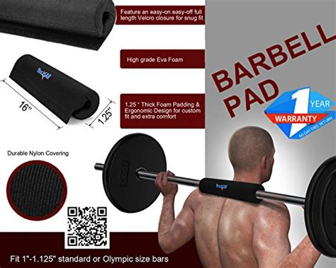 Squat Rack Neck Pad by Yes4all Barbell Squat Pad Neck And Shoulder Protective