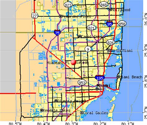 hialeah, florida (fl) profile: population, maps, real