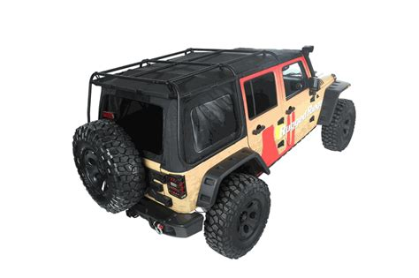 Jeep Wrangler Top Roof Rack by All Things Jeep Exo Top Soft Top Roof Rack For Jeep