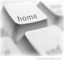 what is a home key