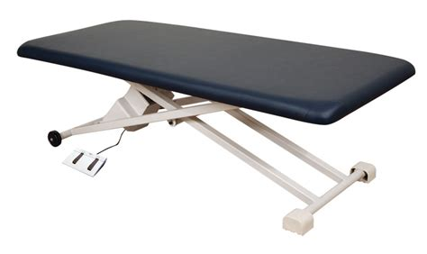 oakworks electric table oakworks proluxe pt100 electric therapy table