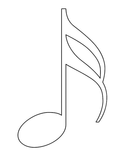 music notes coloring page www imgkid com the image kid