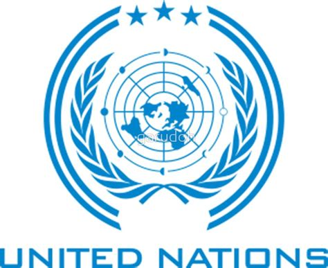 the un quot the expanse united nations logo clean quot stickers by