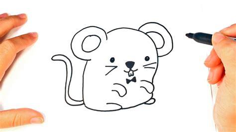 imagenes kawaii para dibujar facil c 243 mo dibujar un rat 243 n kawaii paso a paso dibujo f 225 cil de