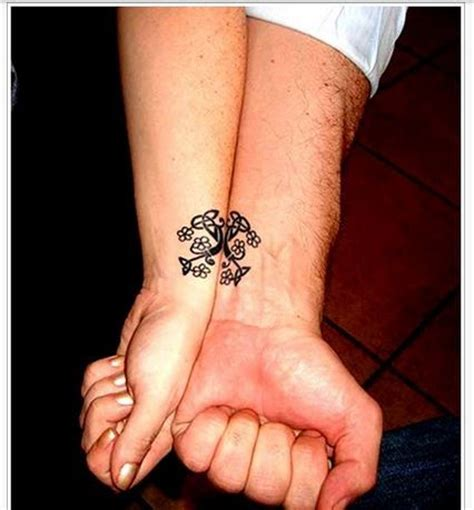 imagenes de tatuajes de union de parejas de 70 tatuajes para parejas que os enamorar 225 n 161 ideas
