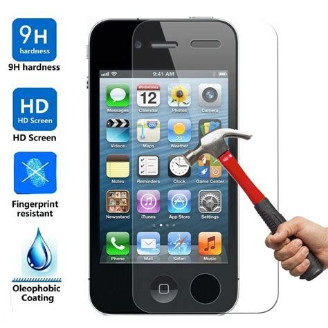 iphone 10x 10x wholesale lot tempered glass screen protector for apple iphone 4 4s ebay