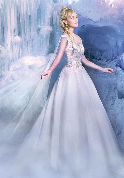Confira a coleção de vestidos de noiva inspirados nas princesas Disney