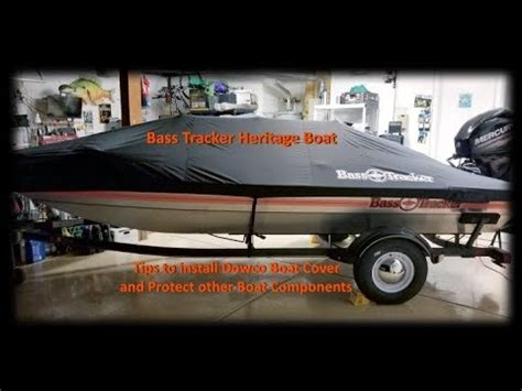 how to install a boat cover tips to install dowco boat cover youtube