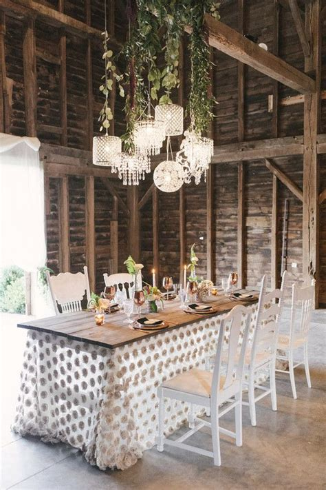 Rustic Wedding Decor & Styling via Hudson Valley Vintage