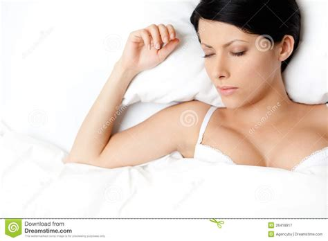 sexy women in bed sleeping sexy woman in the double bed royalty free stock photography image 26418917