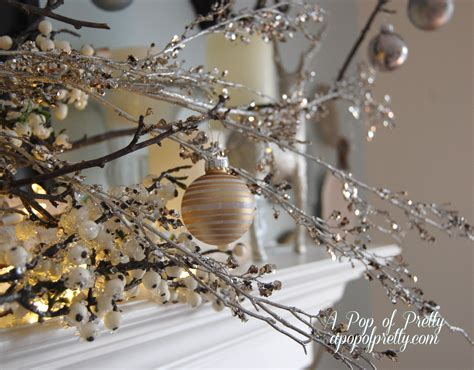 a silver xmas architecture interior design