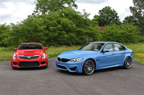 2016 bmw m3 competition package vs cadillac ats v test