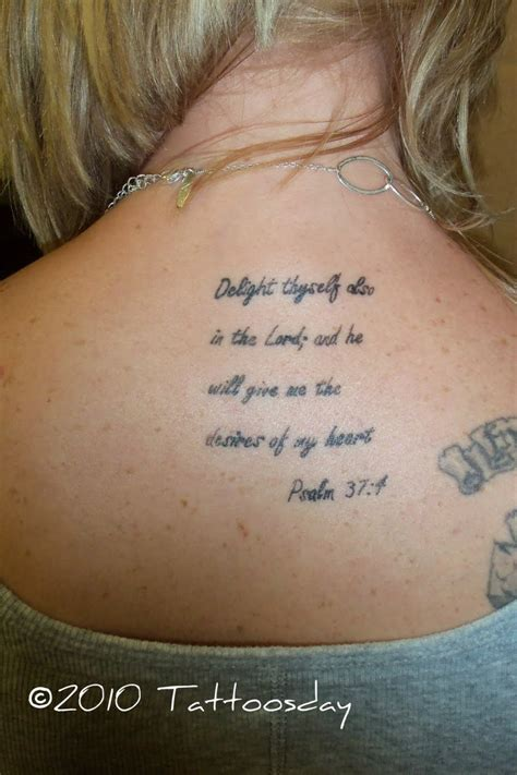 bible verses against tattoos psalm 37 4 verses tattoomagz