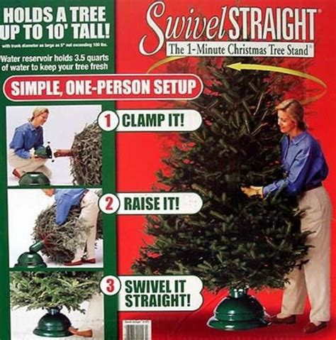 swivel straight christmas tree stand with reservoir