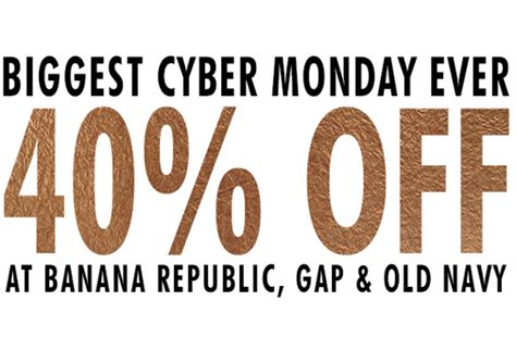 old navy coupons cyber monday gap old navy banana republic cyber monday sale