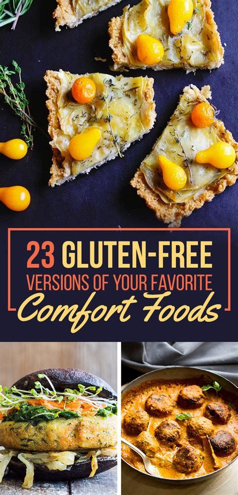 favorite comfort foods 23 gluten free versions of your favorite comfort foods