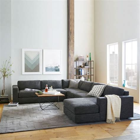 west elm urban sofa review what colour carpet goes with charcoal grey sofa carpet