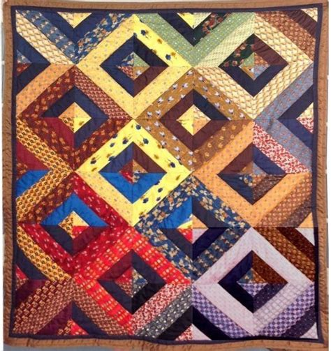 Quilt With Ties by Silk Tie Quilt This Is More Quot Planned Quot Than The