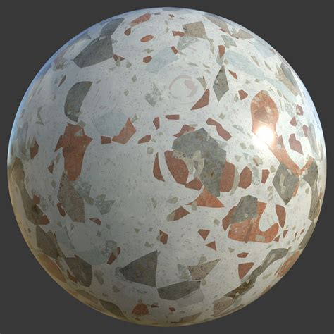 terrazzo  marble texture   colors  pbr