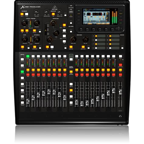 Mixer Digital Behringer X32 Compact behringer x32 producer digital mixing console at