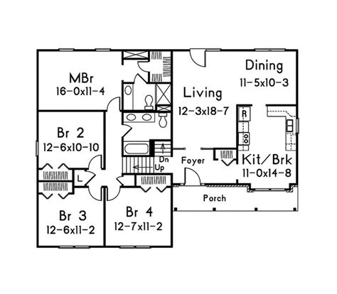 4 bedroom split level floor plans 17 best ideas about split level house plans on pinterest