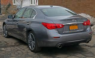 Infiniti M 50 File 2014 Infiniti Q50 3 7 Awd Rear Jpg Wikimedia Commons